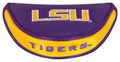 Team Effort NCAA Golf Mallet Putter Cover - Louisiana State University