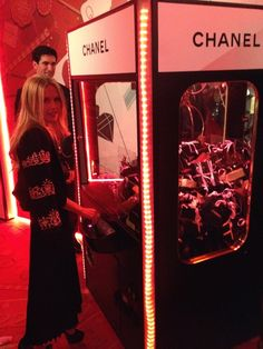 Rachel Zoe gaming for goodies at Chanel