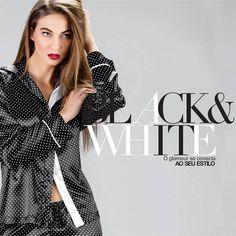 Eternos Black & White. Deixe sua marca com um clássico! #mixte #lindaemcasa www.mixte.com.br