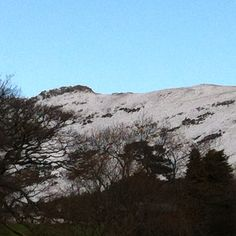 The view from my bedroom window: Rannerdale Knotts