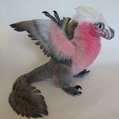 Rose-Parrot Raptor by kimrhodes.deviantart.com on @DeviantArt