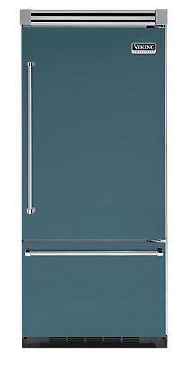 "36"" IRIDESCENT BLUE Refrigerator/Freezer - Viking Range"