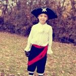 Thrifted (and Awesome) Boys' Pirate Costume!