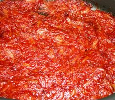 Ground turkey provides a leaner meat sauce for pasta in this recipe using both a tomato, tomato sauce, and tomato paste with fresh basil. Pasta With Meat Sauce, Sausage Lasagna, Tomato Sauce Recipe, Italian Recipes, Italian Foods, Italian Pasta, Marinara Sauce, Pasta Recipes, Kitchens