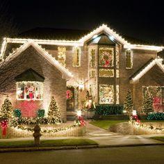 Exterior Christmas Light Display