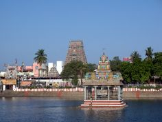 #Kapaleeshwar_Temple, #Chennai - To Seek Blessings of Lord Shiva and Parvati - Built by the #Vijaynagar rulers of the Tuluva Dynasty in the #Dravidian style of architecture, the chief deity in the Kapaleeshwar Temple, Chennai was the Shiva Lingam and the form of Goddess here was Karpagambal, an incarnation of Parvati, who was also referred to as the 'Goddess of the Wish Yielding Tree'.