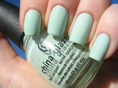 """China Glaze """"Refresh Mint""""   I finally got it the other day. Love it so much"""