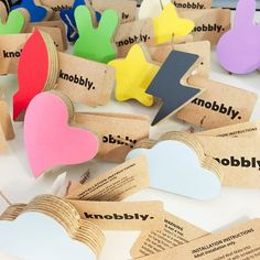 New arrival wall hooks, now available at www.knobbly.com.au Installation Instructions, Wall Hooks, Kids Decor, Place Cards, Place Card Holders, Wall Mounted Hooks, Hooks, Wall Hangings, Wall Coat Hooks
