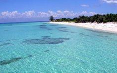 uma da ilhas do Caribe, bela