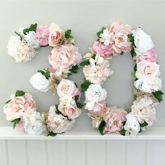 Birthday Number Number Decor Peach and Pink Birthday Decor Pink and Peach Floral Decor Birthday Photo Prop Cake Table Decor Cake Smash Birthday Table, Birthday Numbers, Pink Birthday, Birthday Woman, 30 Birthday Cake, 19th Birthday, Pink Wedding Decorations, Cake Table Decorations, Birthday Party Decorations