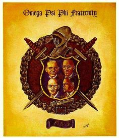 Omega Psi Phi Paraphernalia, By Any Means Necessary, Sorority Sisters, Historical Pictures, Fraternity, Black History, Thunder, Equation, Sons