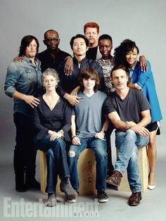 The Best Cast in The World. #TheWalkingDead