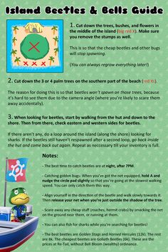 Animal Crossing New Leaf - Guide to Island