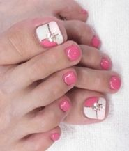 Cute Summer Toes - Pedicure Nail Art Designs