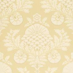 Mulberry PALACE DAMASK MILK/CREAM Wallpaper