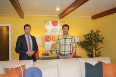 We teamed up with the Property Brothers and the Today Show to give one lucky family a new living room!