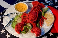 """The Calorie-free """"Knitted Taste of Lenox"""" (by Bonnie, Co-Owner of Colorful Stitches and first-time blogger)"""