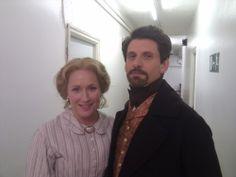 Larry Rickard & Martha Howe-Douglas (Horrible Histories) Vile Victorians  Behind the scenes.