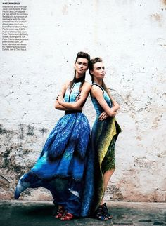 Undiscovered Worth: Vogue March 2012: Vision Quest Fashion Spread