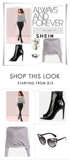 """SheIn  3/3"" by dilruha ❤ liked on Polyvore"