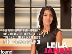 how to start a startup leila janah