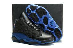 daf9dc6e821a Official Air Jordan 13 PE Magic for Quentin Richardson Black Gamma Blue  Size Euro 42 Buy