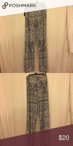 Printed stretchy pants NWT So fun and cute! NWT AB Studio Pants