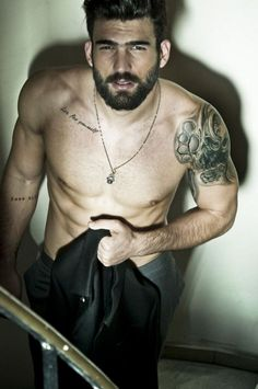 tattooed-men-  thank you Linda Marimpietri  ( You're welcome, my friend <3 )