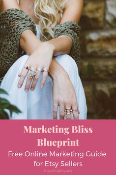 Etsy business - Marketing Bliss Blueprint for Etsy Sellers and Creative Gurus FREE GUIDE – Etsy business Etsy Business, Craft Business, Business Ideas, Craft Show Displays, Display Ideas, Etsy Seo, Business Marketing, Online Marketing, Etsy Shipping