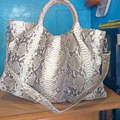 Phyton shoping bag natural