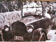 Lokalhistorisk biletsamling i Tysnes: Den fyrste bilen på Reksteren