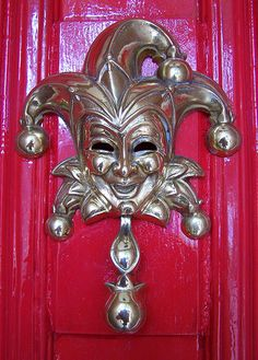 Jester Door Knocker, The urban snapper | Flickr - Photo Sharing!