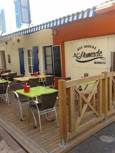 Restaurant La Humade in Biarritz