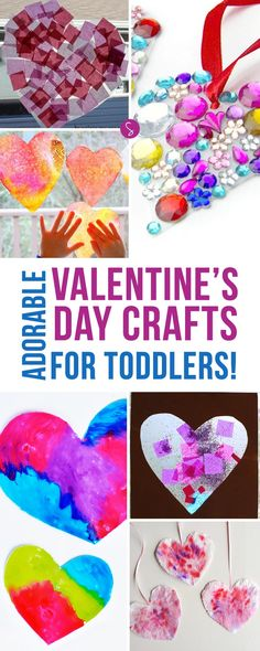 Valentine's Day Crafts for Toddlers | Activities | Preschoolers | Heart Crafts