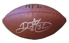 ND Fighting Irish Ricky Watters signed NFL Wilson full size football w/ proof photo.  Proof photo of Ricky signing will be included with your purchase along with a COA issued from Southwestconnection-Memorabilia, guaranteeing the item to pass authentication services from PSA/DNA or JSA. Free USPS shipping. www.AutographedwithProof.com is your one stop for autographed collectibles from Notre Dame & NCAA sports teams. Check back with us often, as we are always obtaining new items.