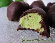 Raw Key Lime Pie Truffles @FragrantVanillaCake