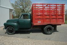 old grain trucks | 1951 Chevy Farm/Grain truck with 22k orig. miles - Image 2