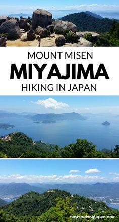 Travel Miyajima Japan hikes. Mount Misen hike to Mt Misen summit or ropeway with one day trip to Miyajima from Hiroshima. Best things to do in Miyajima. Best places to visit. Outdoor travel destinations, backpacking Japan travel tips on a budget, trip planning, where to go on vacation, holiday. Culture travel, beautiful places, asia, for world bucket list, wanderlust inspiration, adventure. #flashpackingjapan