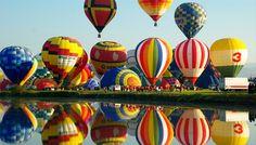 佐賀県 佐賀ワールドバルーンフェスタ 佐賀市嘉瀬川河川敷をメイン会場に行われるアジア最大級を誇る熱気球国際的なフェスティバルです!