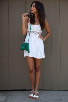 Ring My Bell: Little White Dress