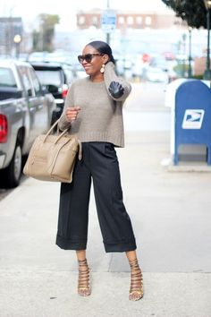 awed by monica culottes