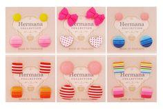 12 Pairs Lot of Cute Kids Plastic Soft Post Stud Earrings for Girls Children A4 #Stud