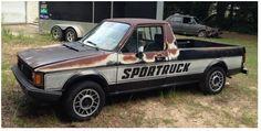 Very patina'd Sportruck