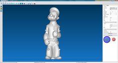 Kippari 3D-skannattu Rolandin 3D-laserskannerilla.  #3dskannaus #3dskanneri #3dscanning #3dscanner #3dpirkanmaa