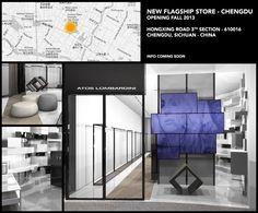 #ATOSLOMBARDINI Flagship #Shop - Hongxing Road 3th Section . #Chengdu . #CHINA . Opening Fall 2013