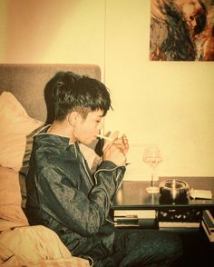 Smoking reduces life... T.O.P please dont smoke!!  #top #choiseunghyun #bigbang