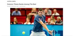 Is Dominic Thiem the 3rd greatest tennis player in the world? Tim Henman believes so! Case Western Reserve men's tennis player, Aaron Umen sheds some light on the ranking: Tim Henman, Tennis Stars, Tennis Players, Sheds, Good Things, Blog, Shed Houses, Shed, Blogging