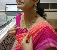 Trendy jewerly gold indian design pearl necklaces ideas #jewerly