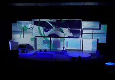 Videomapping Stage Design. Citroen