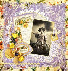 Purple Angel - Scraps of Elegance - Scrapbook.com